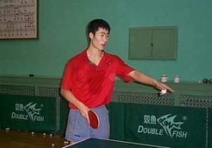 Wang Liqin настольный теннис тренировка
