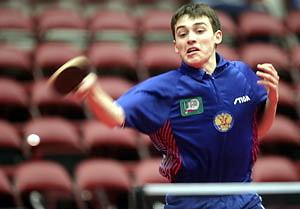 Как раз играю китайской накладкой на юношеском чемпионате мира 2007 в США.