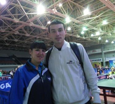 Это я и моя коллега по работе в спортивной школе Кириллова Ирина.