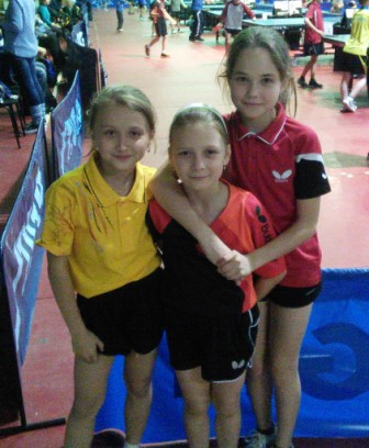 Кате 9 лет, остальным по 8, у них в спорте все только начинается!