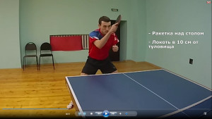 Уроки настольного тенниса