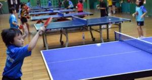 Тренировка настольного тенниса в Китае