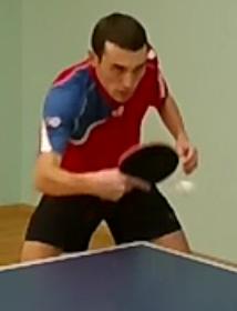 Научиться накаты слева в настольном теннисе