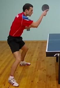 Научиться накату справа настольный теннис