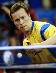 Игроки настольного тенниса - Ян-Увэ Валднер