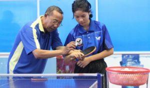 Тренер по настольному теннису
