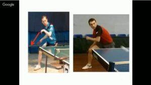 топ-спин справа настольный теннис
